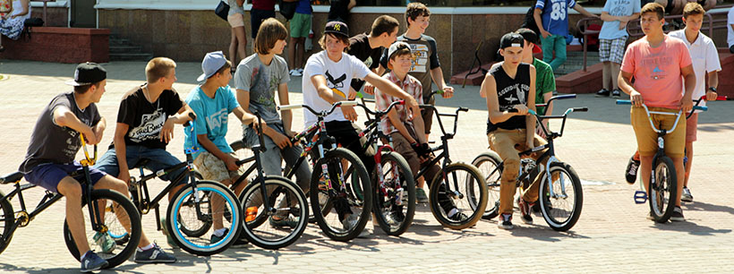 The END of Season BMX Jam Session